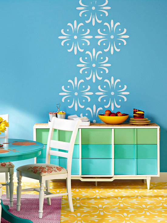 Wall and Floor Stencil
