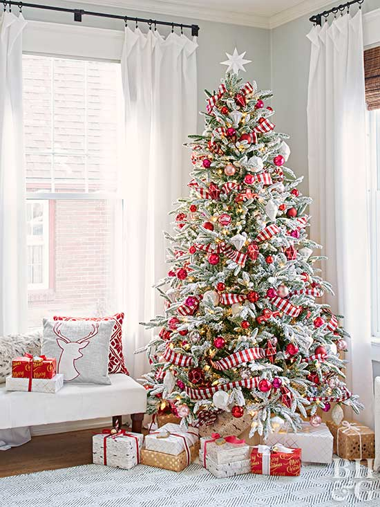 Candy Cane Christmas Tree.46 Stunning Ways To Trim Your Christmas Tree