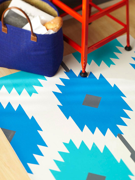 How To Make A Painted Rug Better