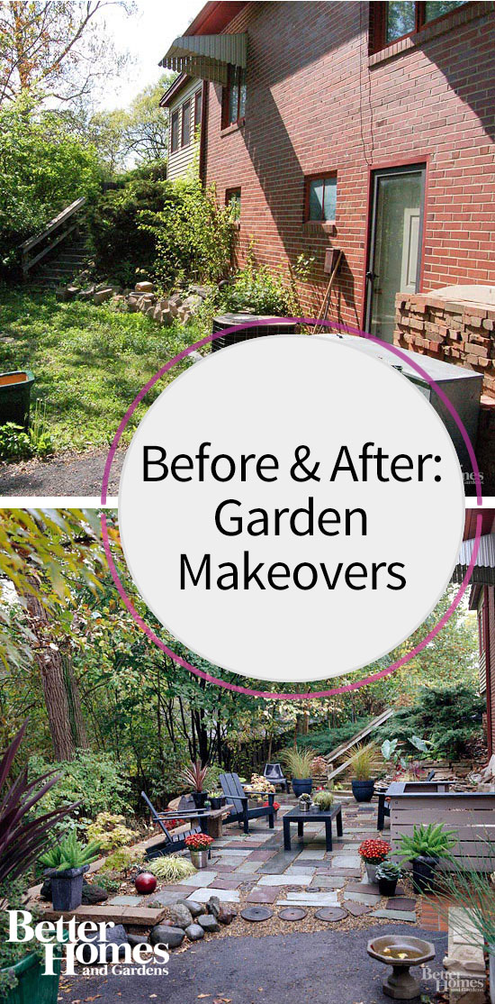 Before and After Garden Makeover Ideas for Your Landscape ... on Backyard Renovation Ideas id=55232