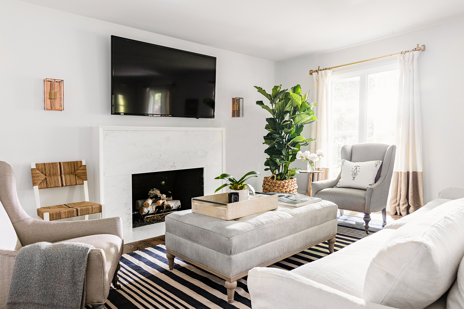 Family Room Furniture Arranging: TV Room