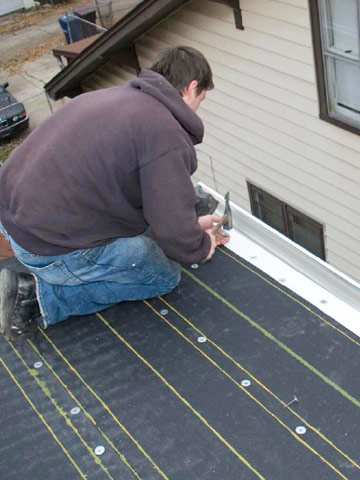 Installing Modified Bitumen Roofing Better Homes Amp Gardens