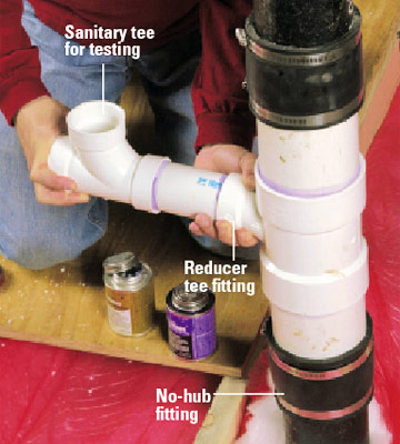 How to Run Drain and Vent Lines | Better Homes & Gardens