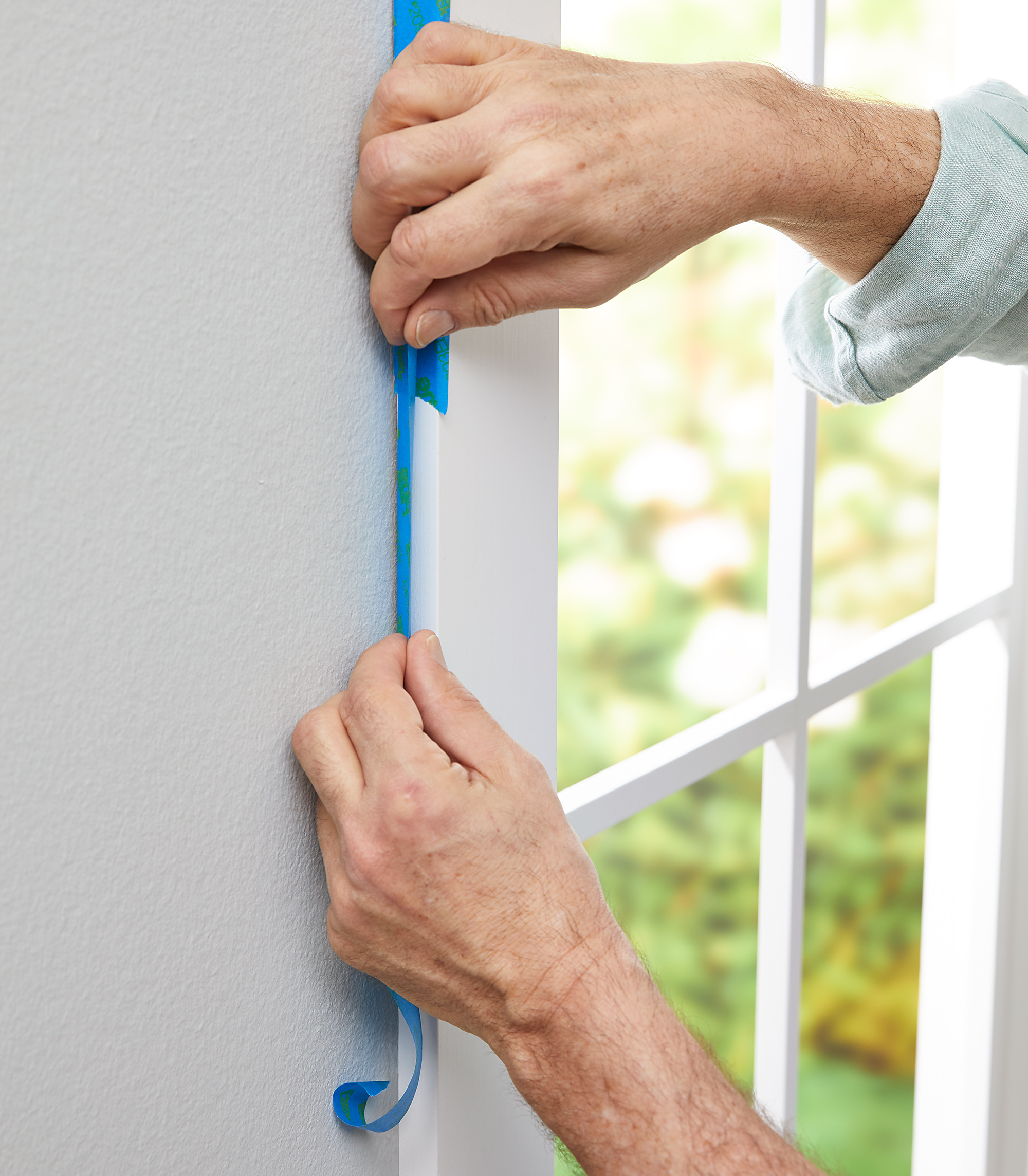 Before You Begin Painting Any Large Area Clear The Room Remove Picture Frames Hanging Hardware Light Fixtures Switchplates