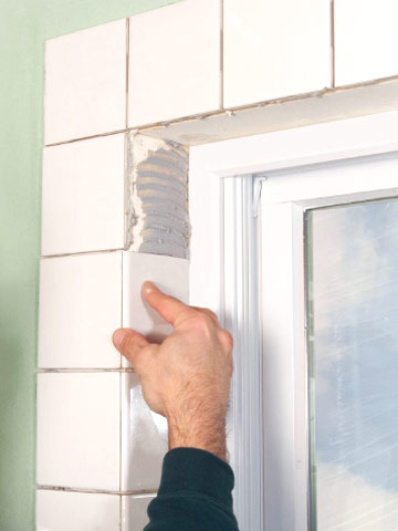 how to tile a window recess | better homes & gardens