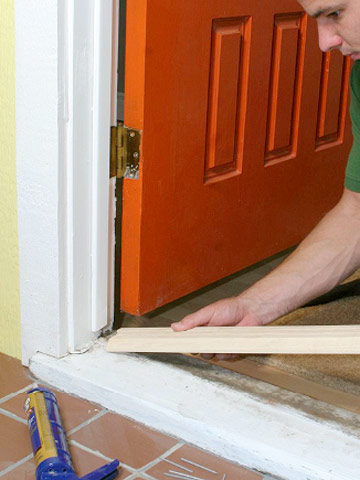 Replacing A Sill And Threshold Better Homes Amp Gardens
