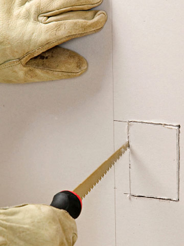 Peachy How To Cut For An Electrical Box In Drywall Better Homes Gardens Wiring Digital Resources Anistprontobusorg