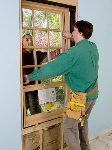 Installing a Wood Window | Better Homes & Gardens