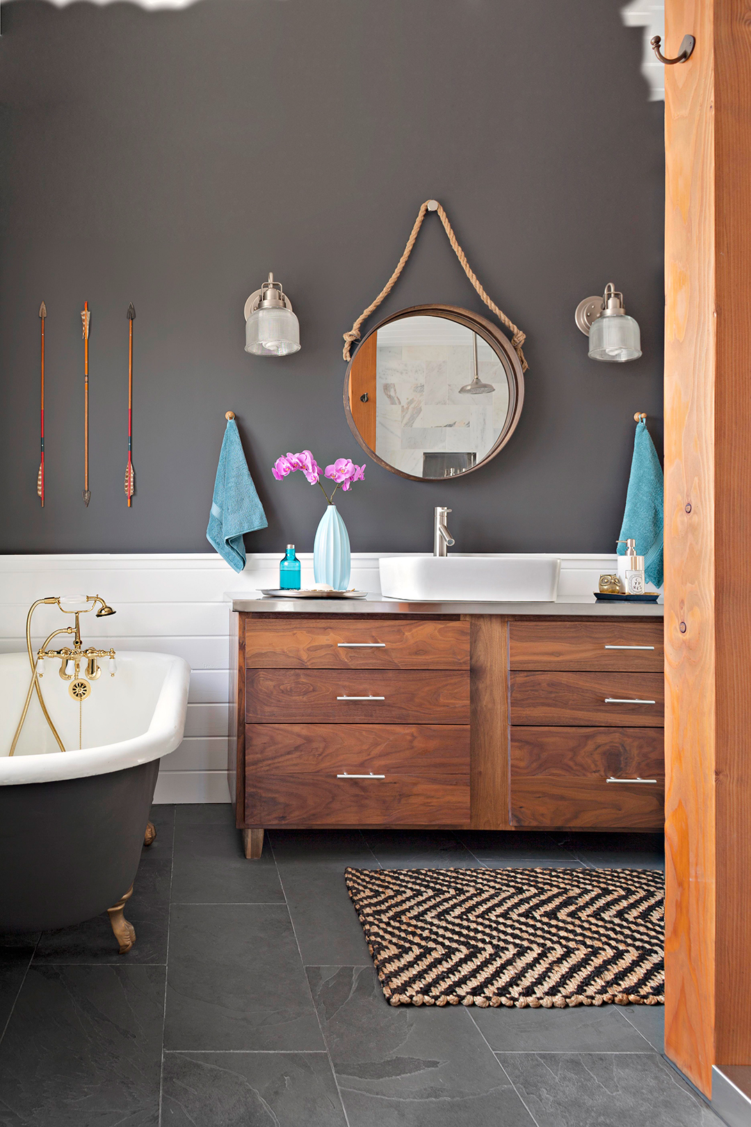 Awe Inspiring The 12 Best Bathroom Paint Colors Our Editors Swear By Home Interior And Landscaping Ologienasavecom