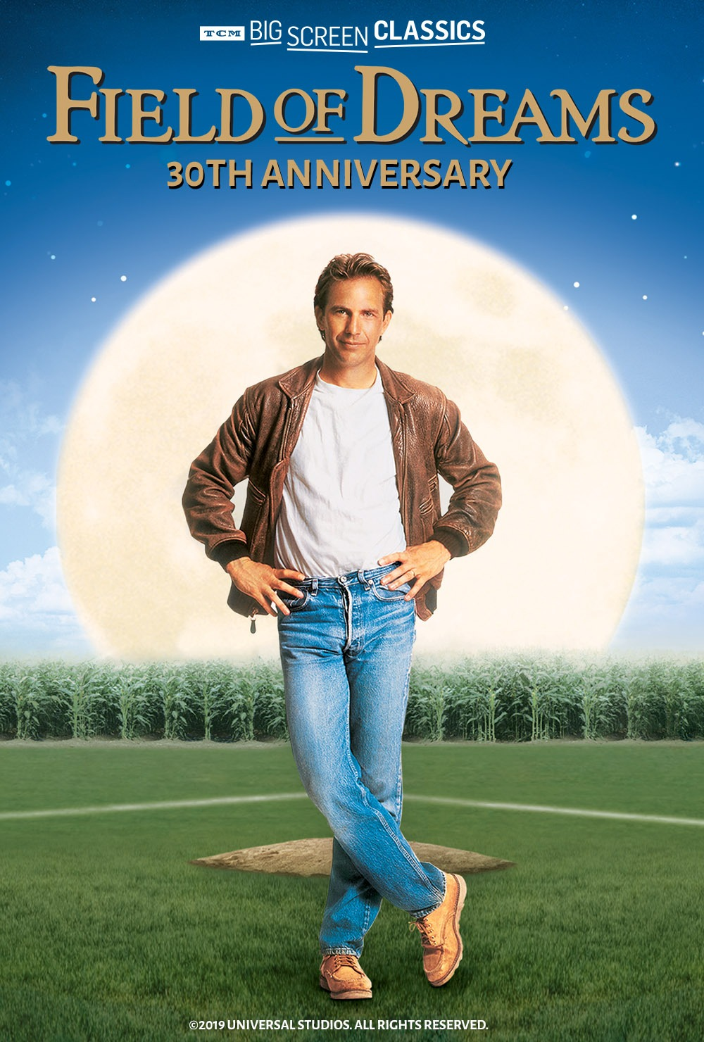 Movie poster of Field of Dreams