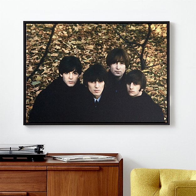 The Beatles And Crate Barrel Come Together For New Home Decor