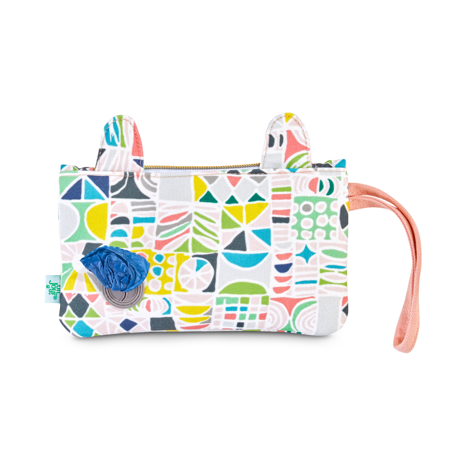 Wristlet with compartments for dog walking