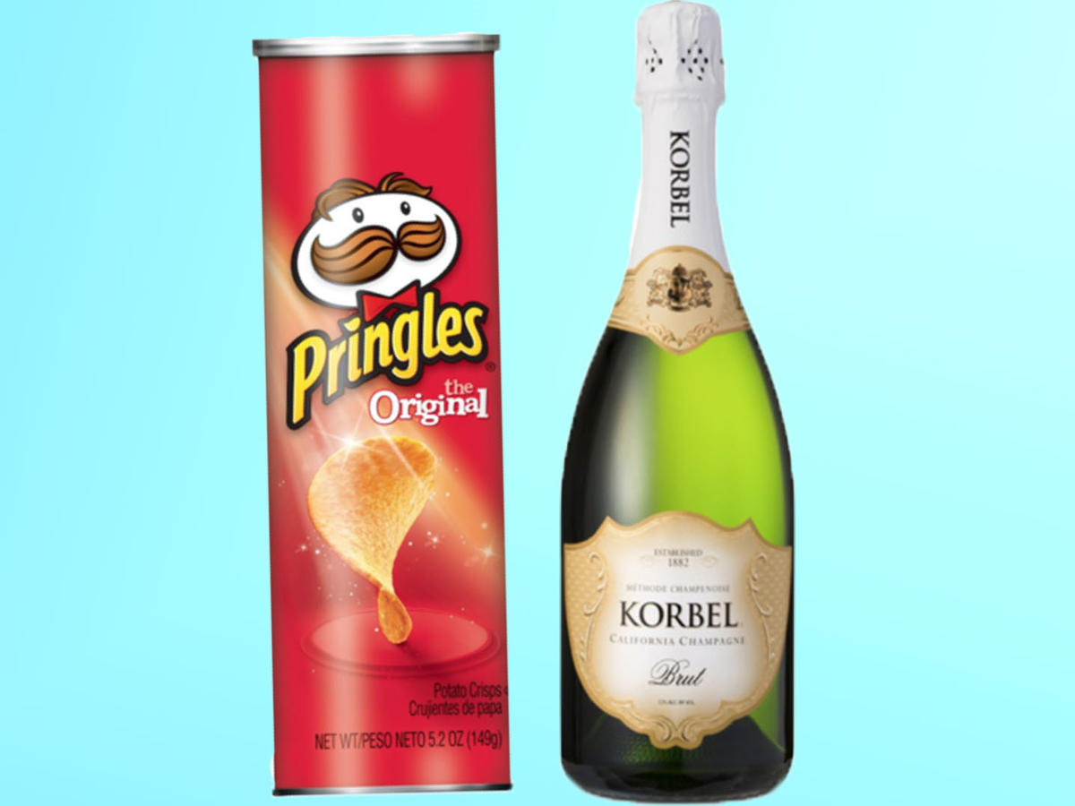 Pringles and Champagne