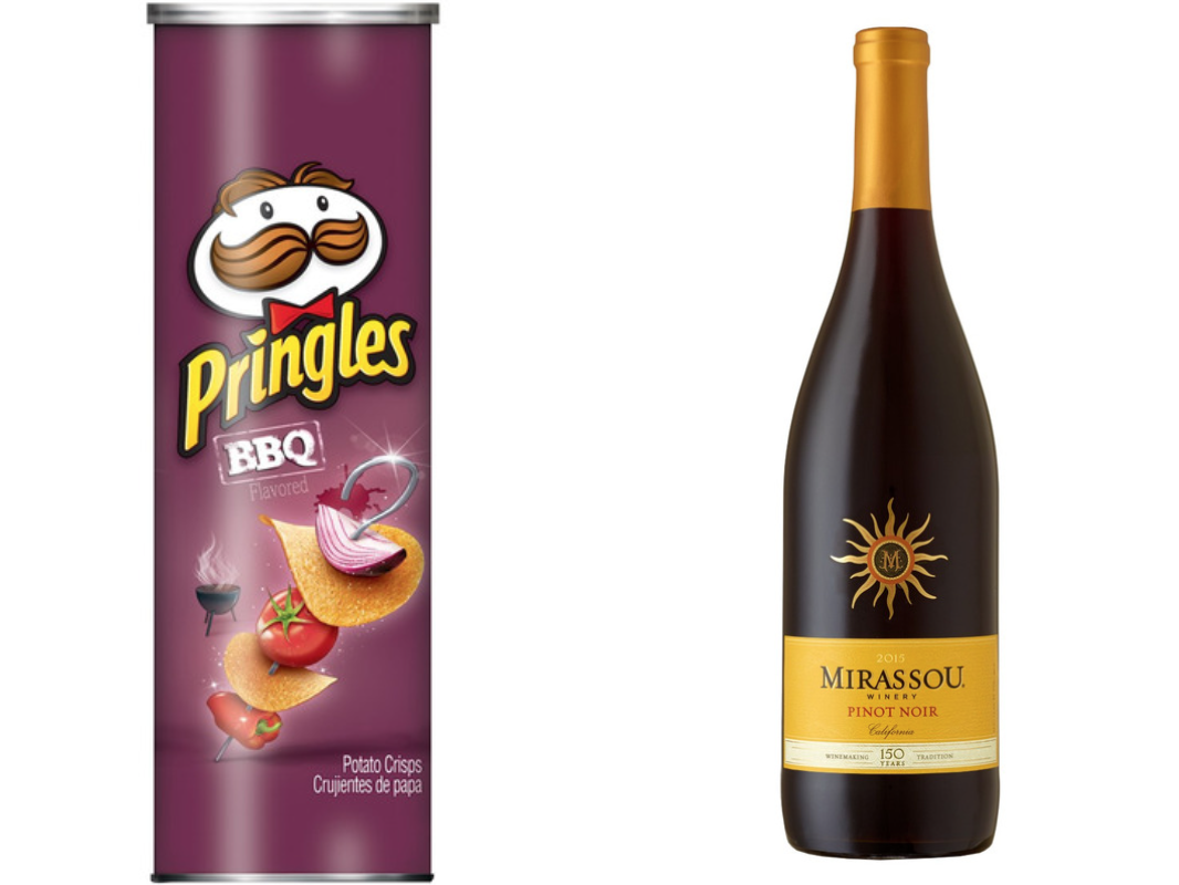 BBQ pringles and pinot