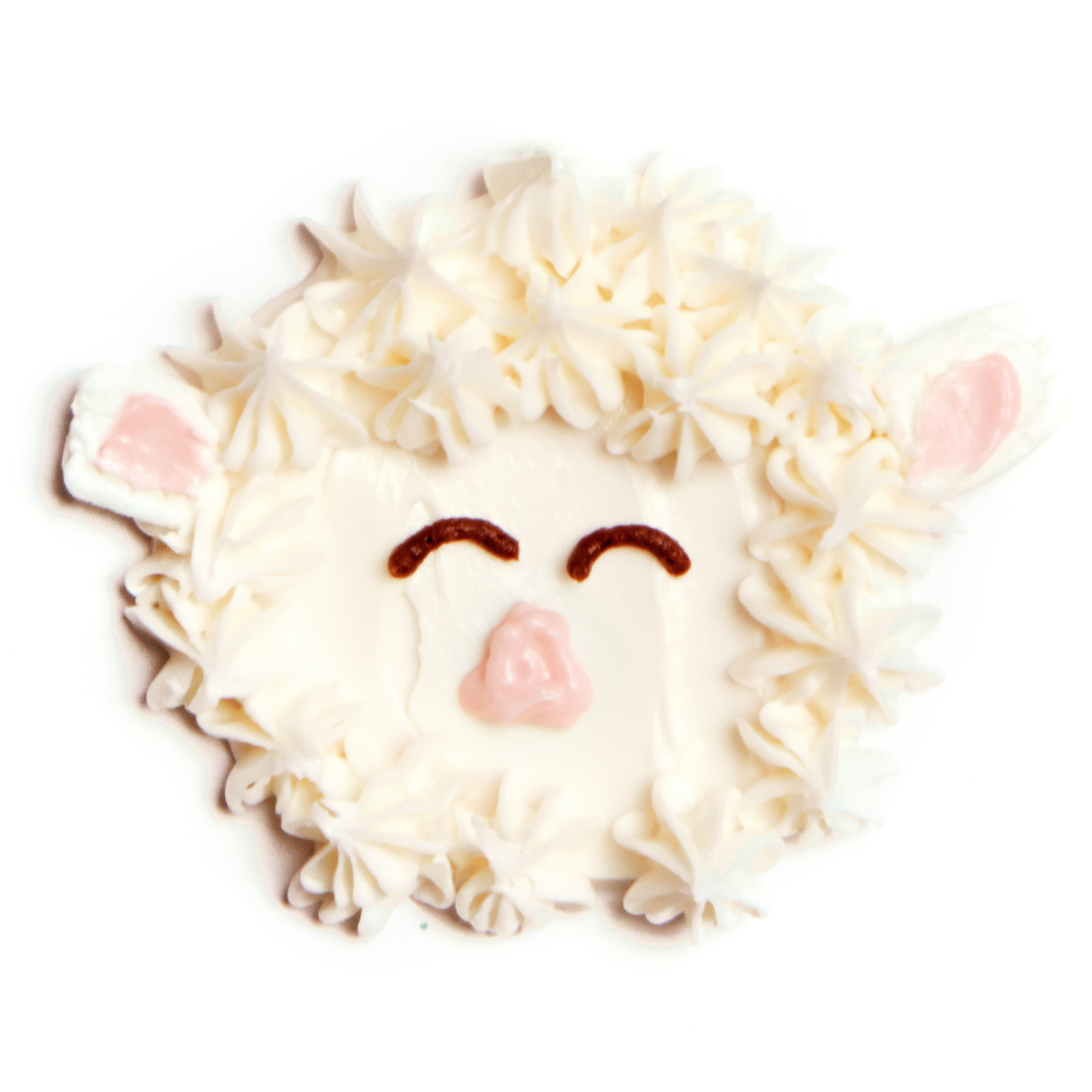 Lamb Face Frosting