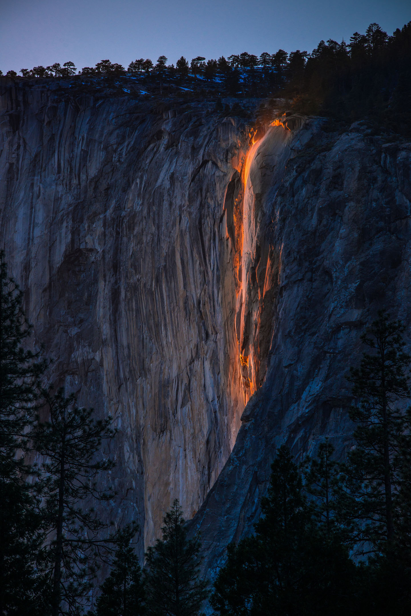 Rare 'Firefall' Is Back at Yosemite National Park