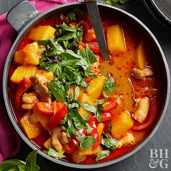 Red Curry with Butternut Squash