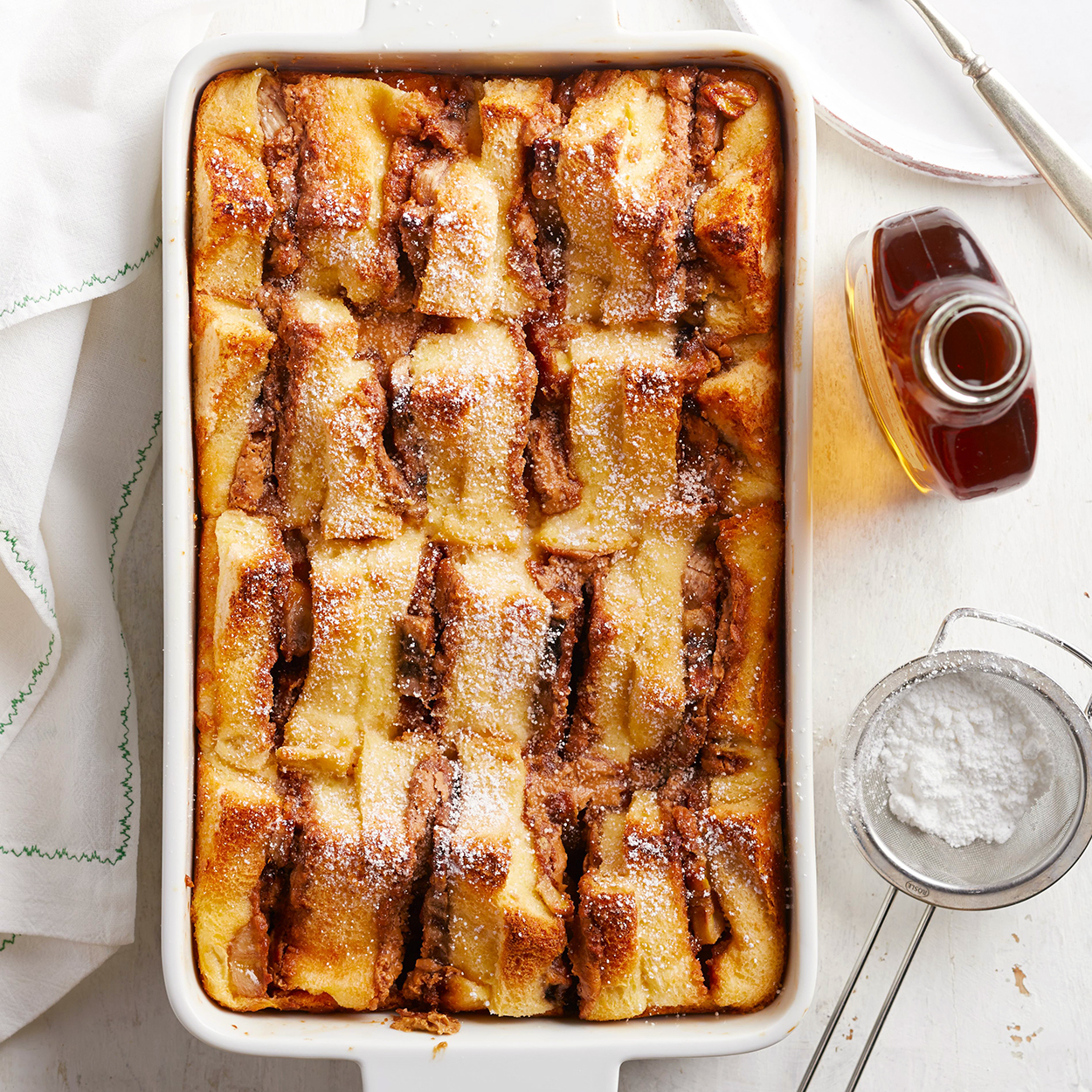 Chocolate-Banana French Toast Bake