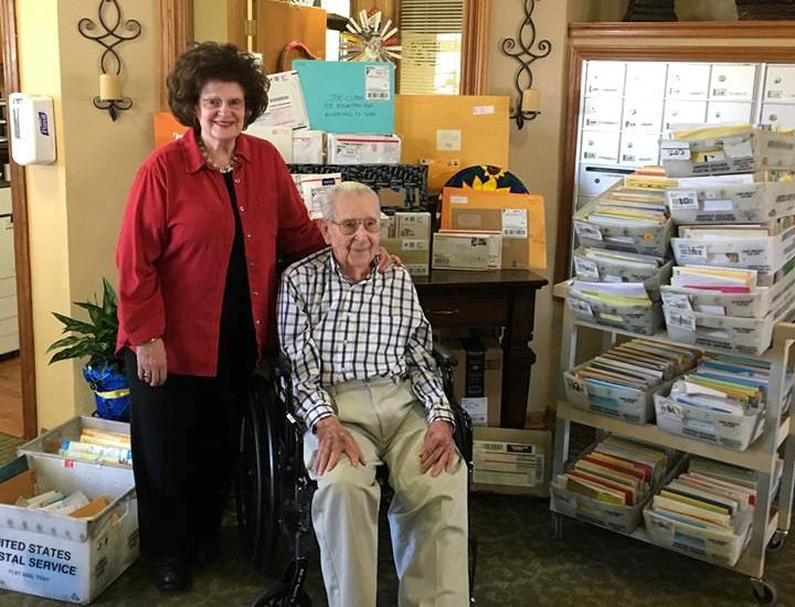 This Veteran Received More Than 35,000 Cards for His 100th Birthday