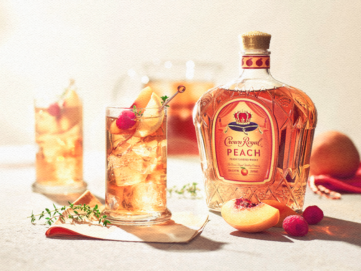 Crown Royal's New Peach Whisky Has Us Dreaming of Summer