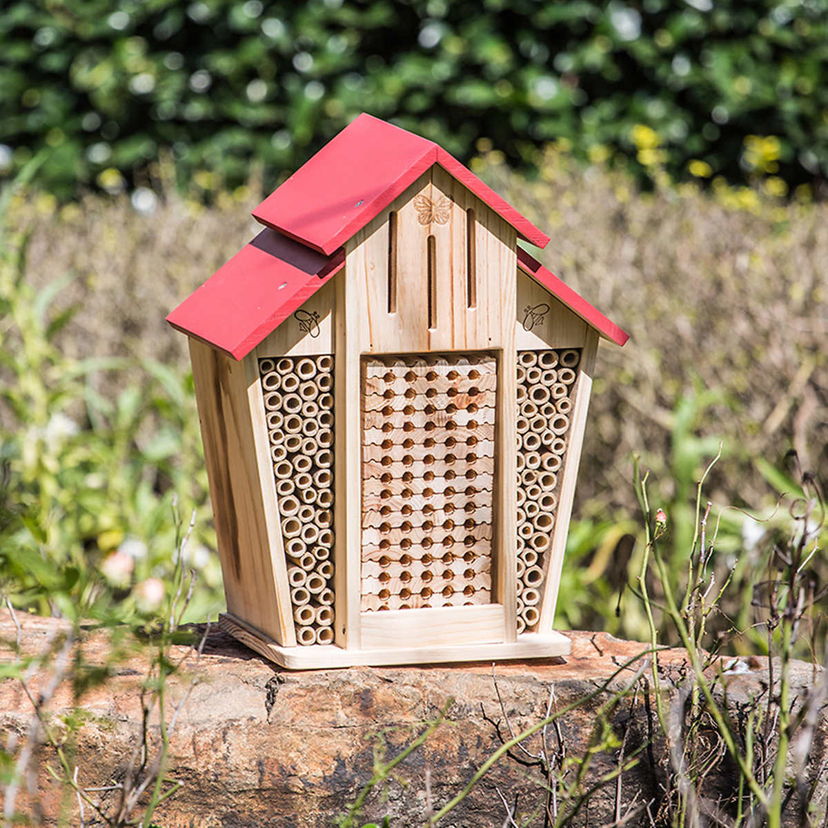 This Adorable 'Bee House' Is One of the Best Ways to Help the Bee Population