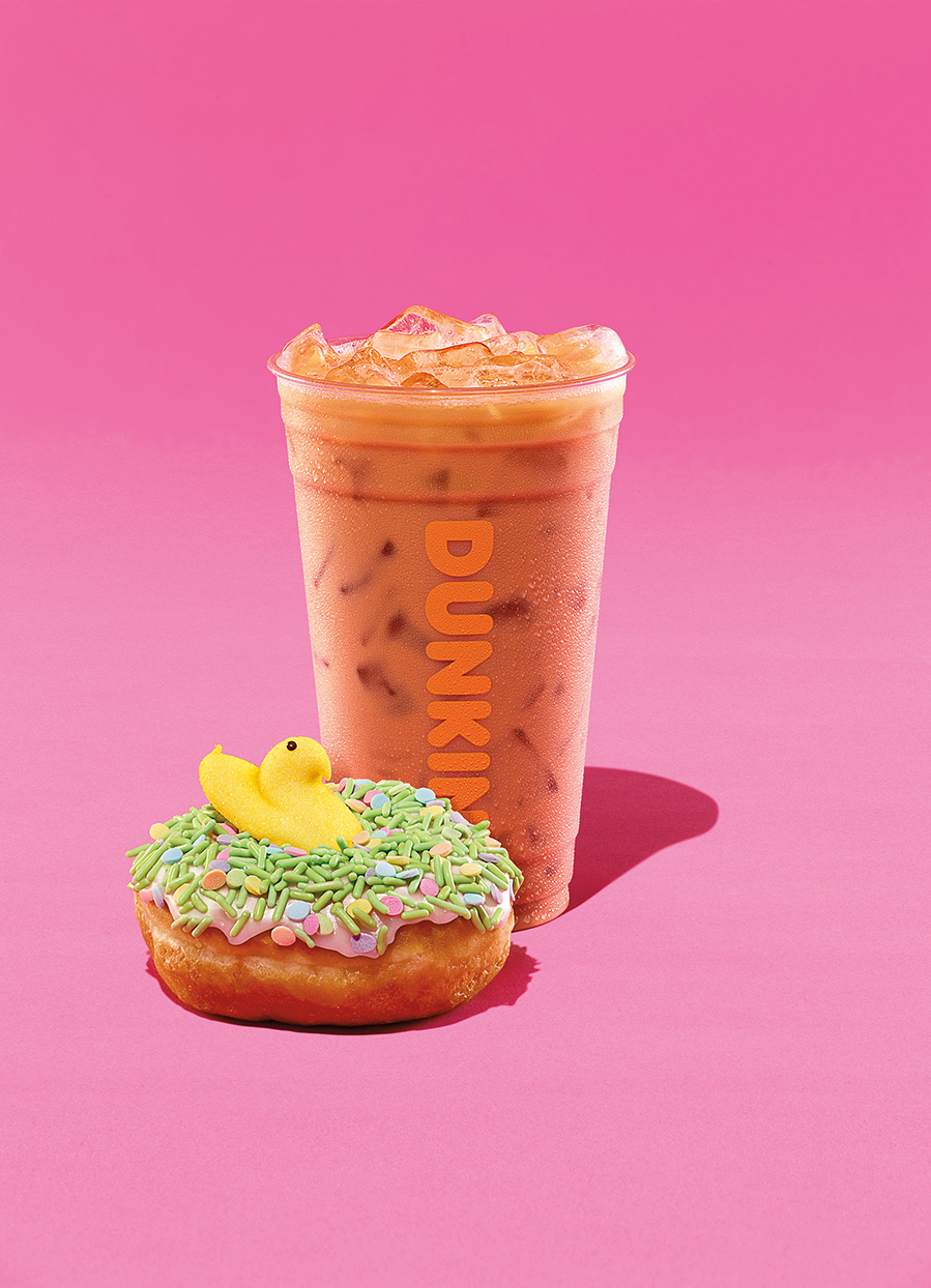 Hop to It! Peeps-Flavored Coffee and Donuts Are On Their Way to Dunkin' Donuts