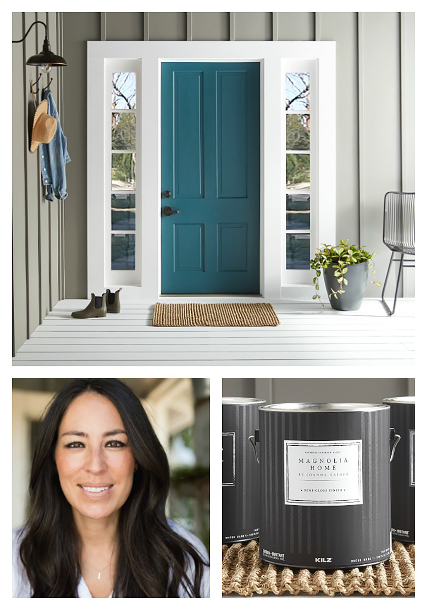 Joanna Gaines Launched an Exterior Paint Color Line for All Your Curb Appeal Dreams
