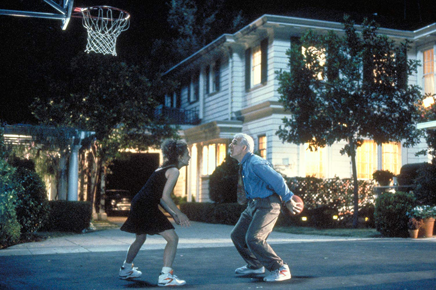 father of the bride basketball scene