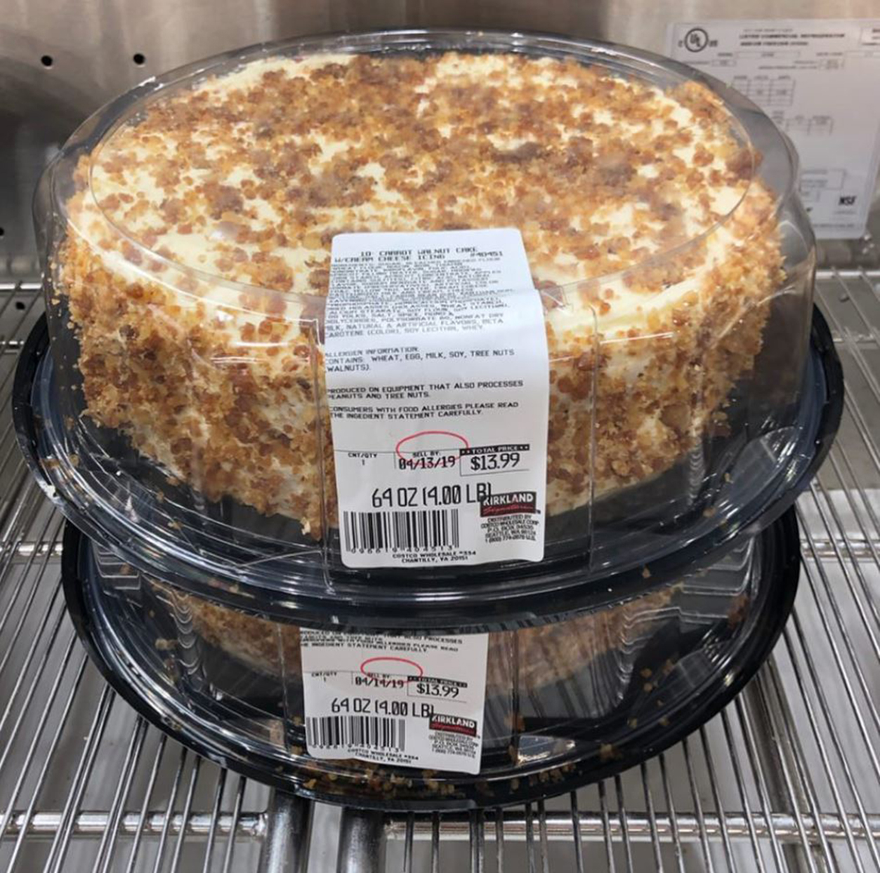 Costco Saves Easter with Their Massive 4-Pound Carrot Cake