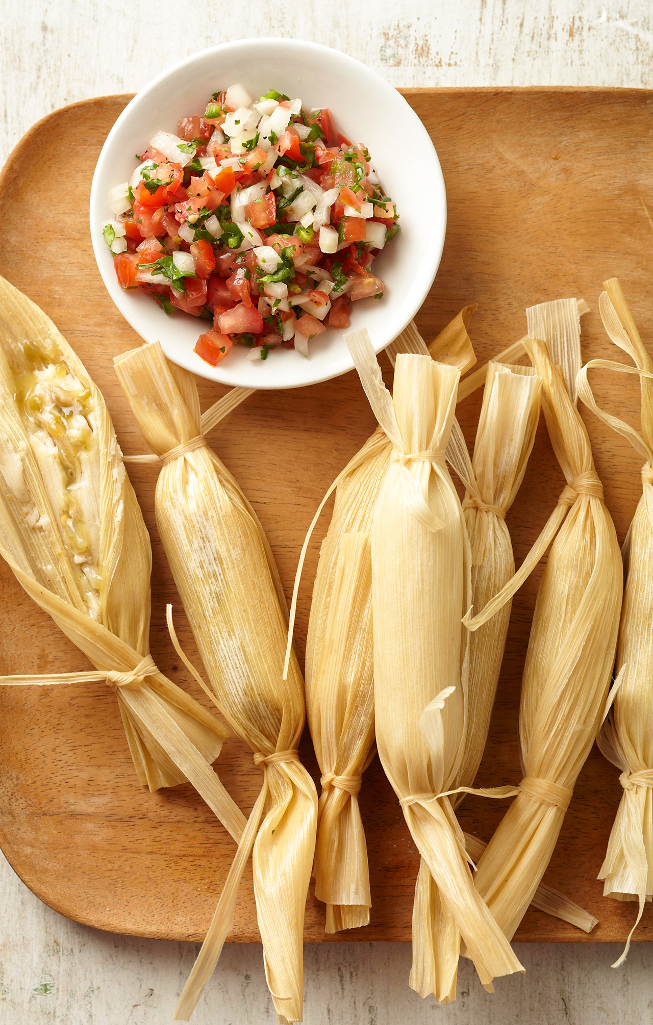 Chicken and Green Chili Tamales