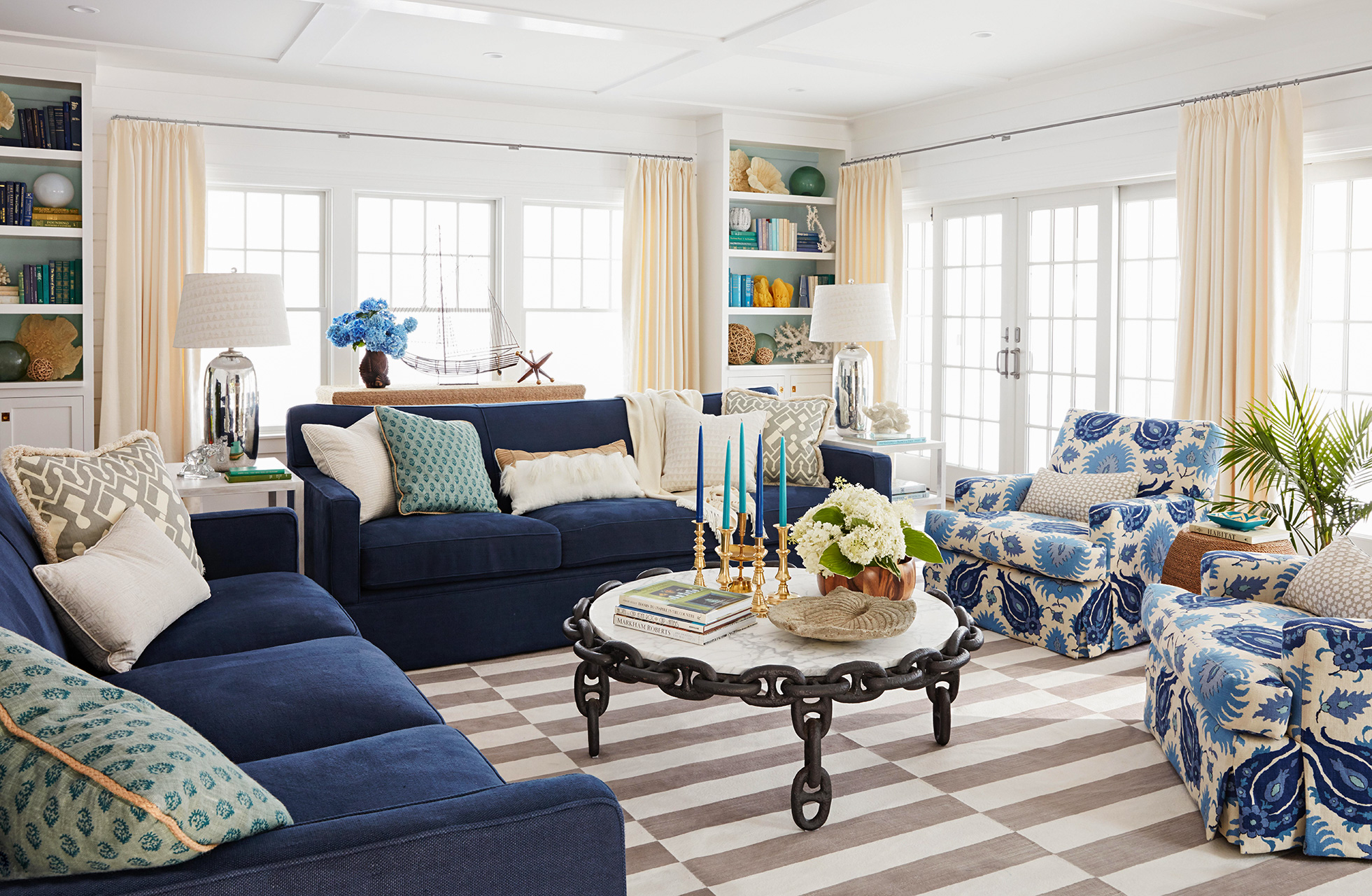 A Kid Friendly Cape Cod Home With Colorful Coastal Elements