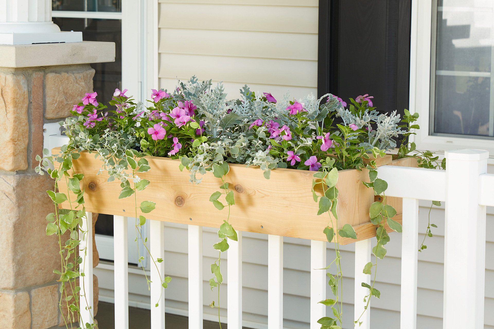 Build Your Own Railing Planter for Custom Curb Appeal