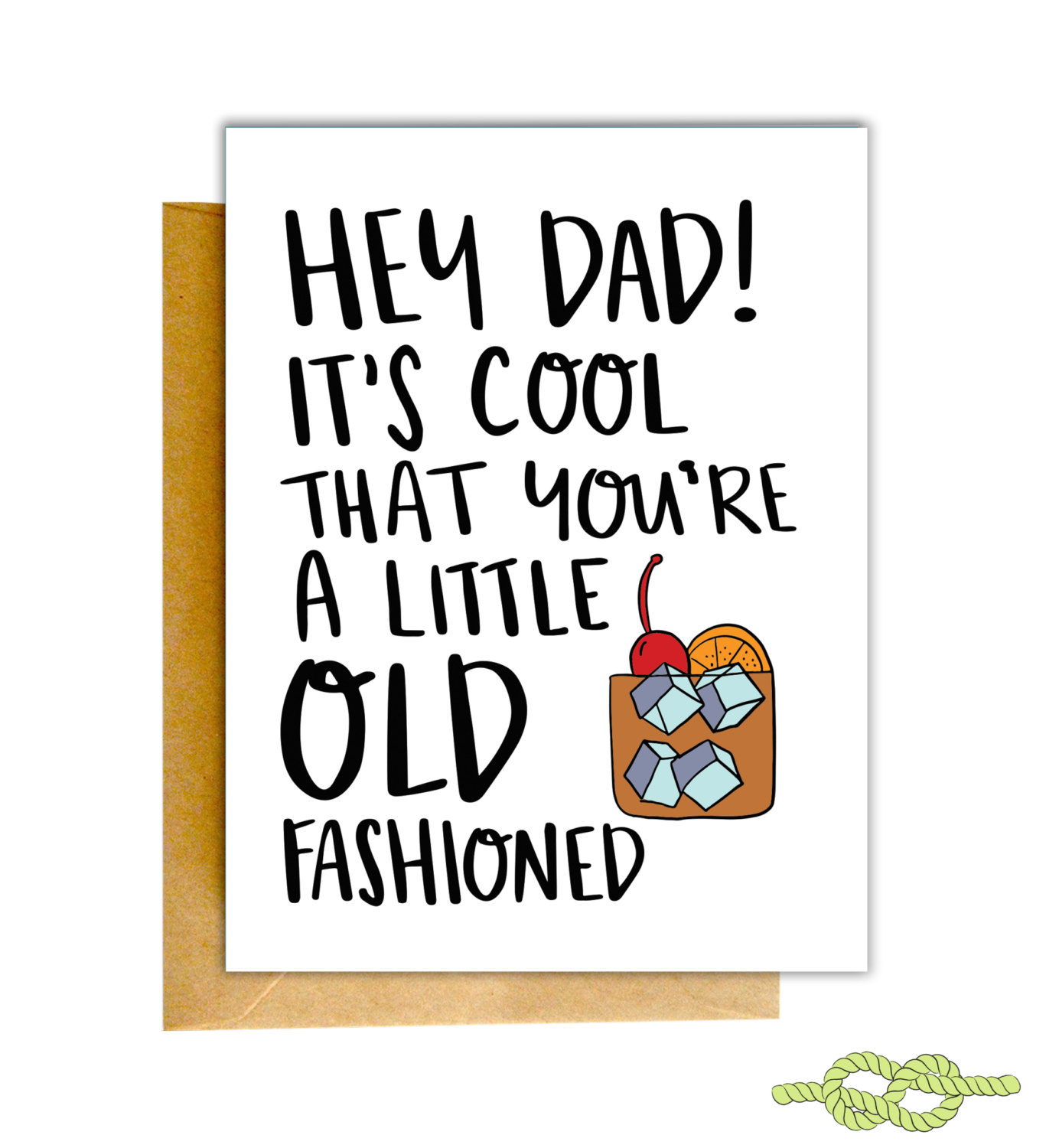 Old Fashioned Card fathers day
