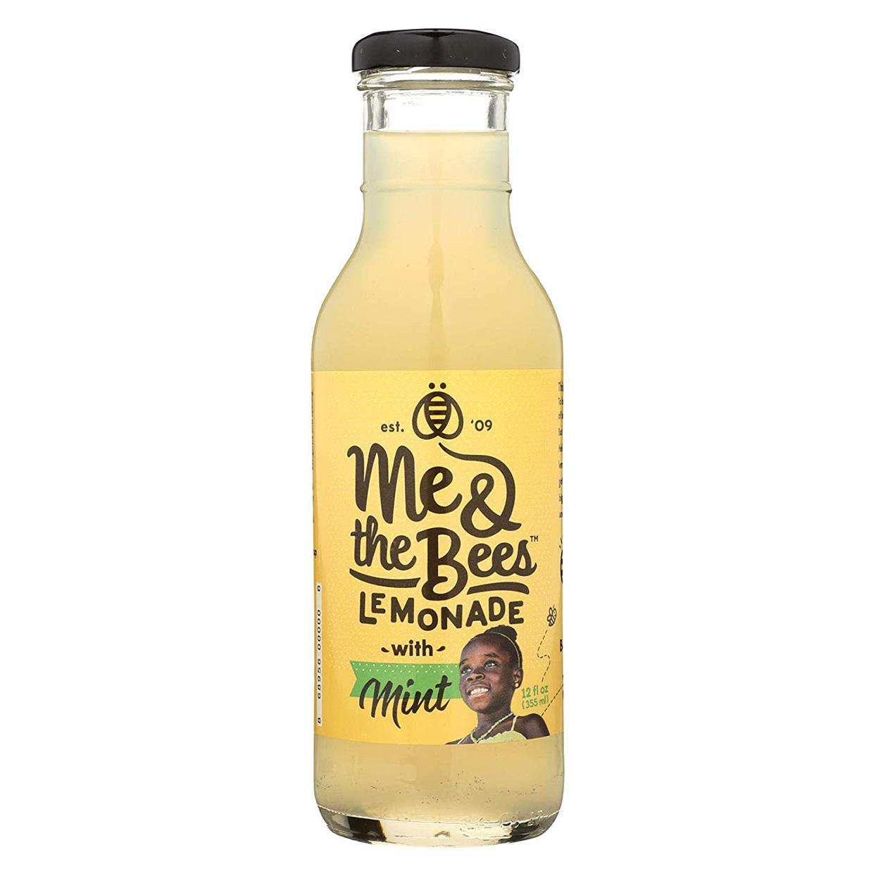 Bottle of Me & the Bees Lemonade with Mint