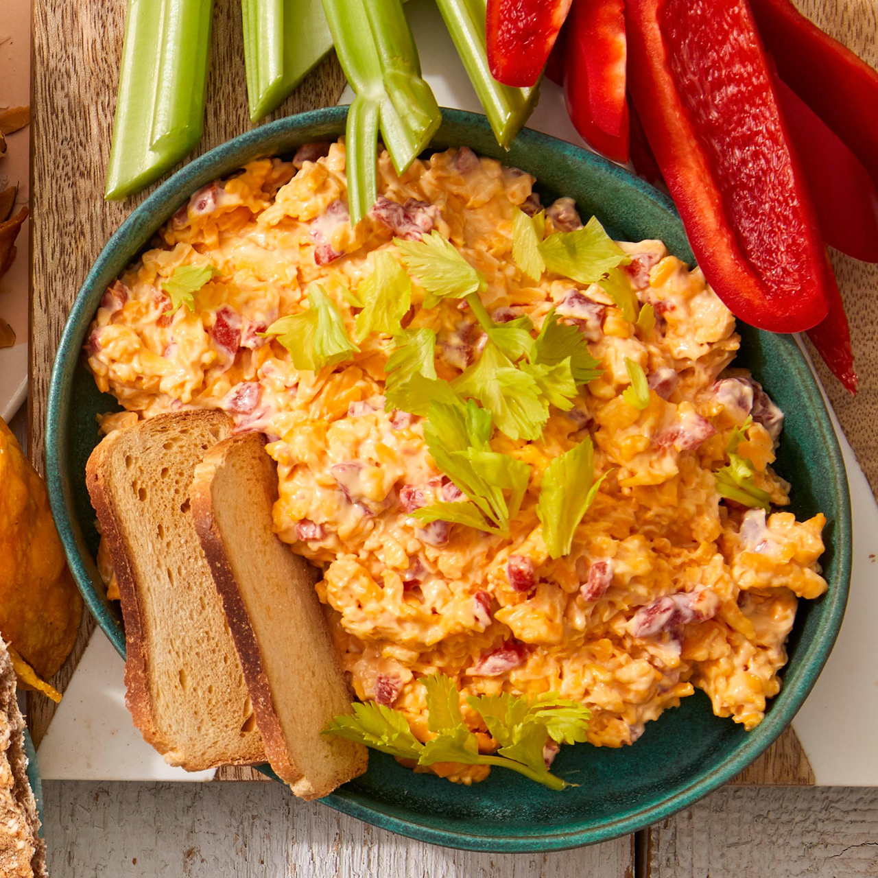 Easy Pimiento Cheese Dip