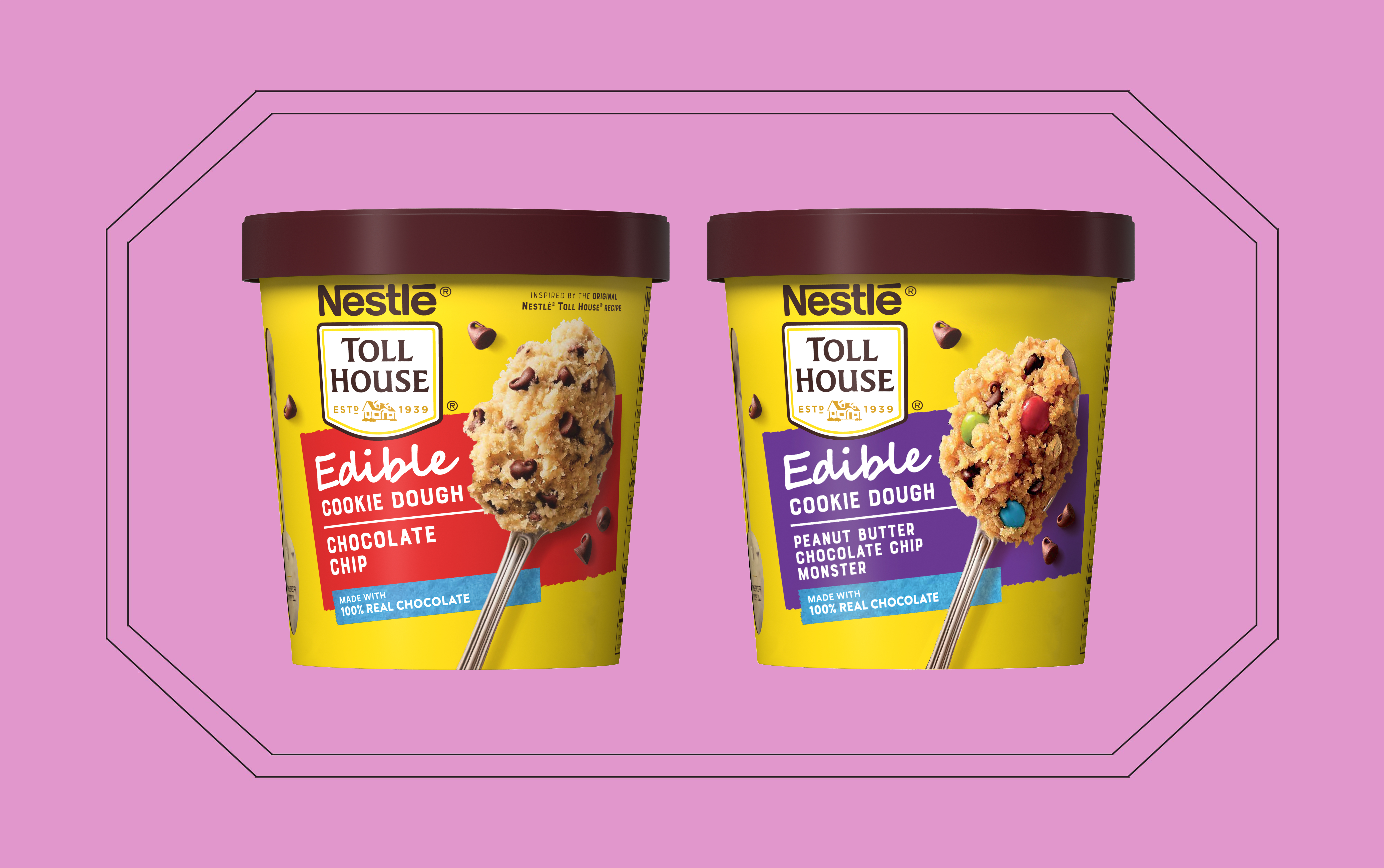 Nestlé Toll House Is Finally Making Edible Cookie Dough That's Safe to Eat