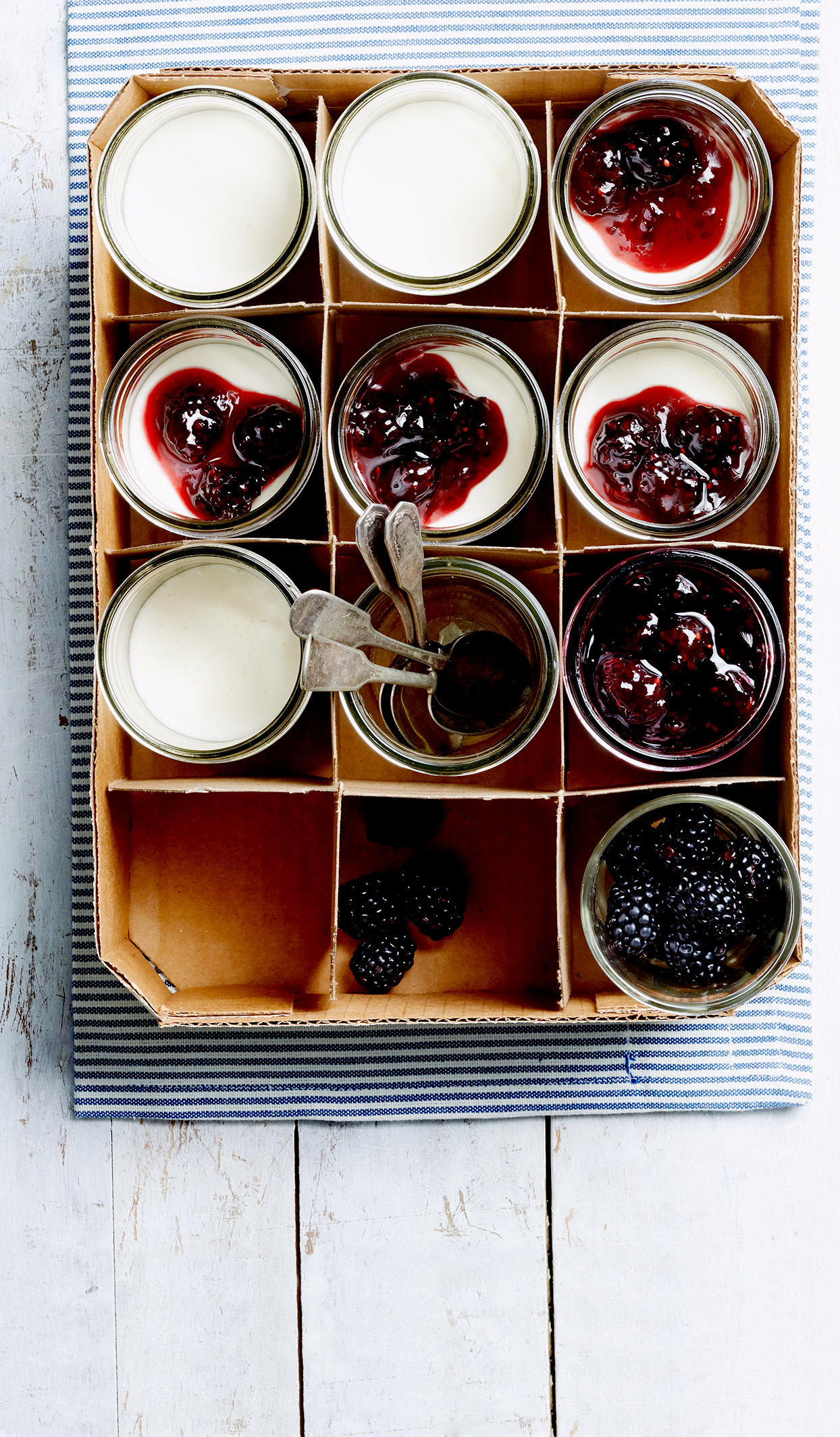 Blackberry-Lime Dessert Sauce