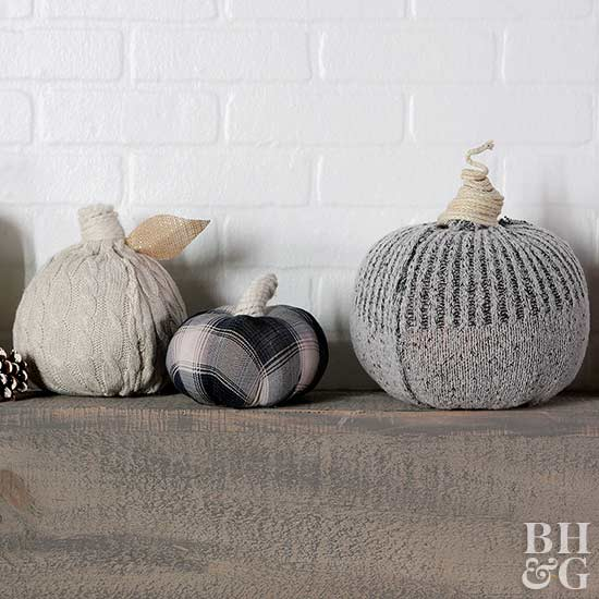 Make Adorable Sweater Pumpkins in 4 Simple Steps