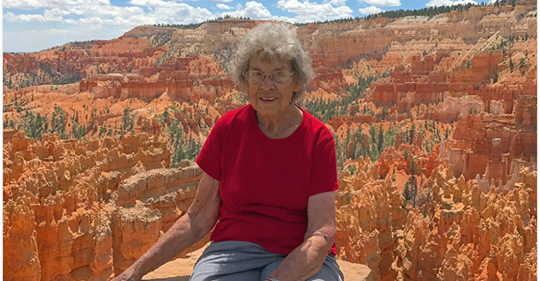 grandma visiting national parks