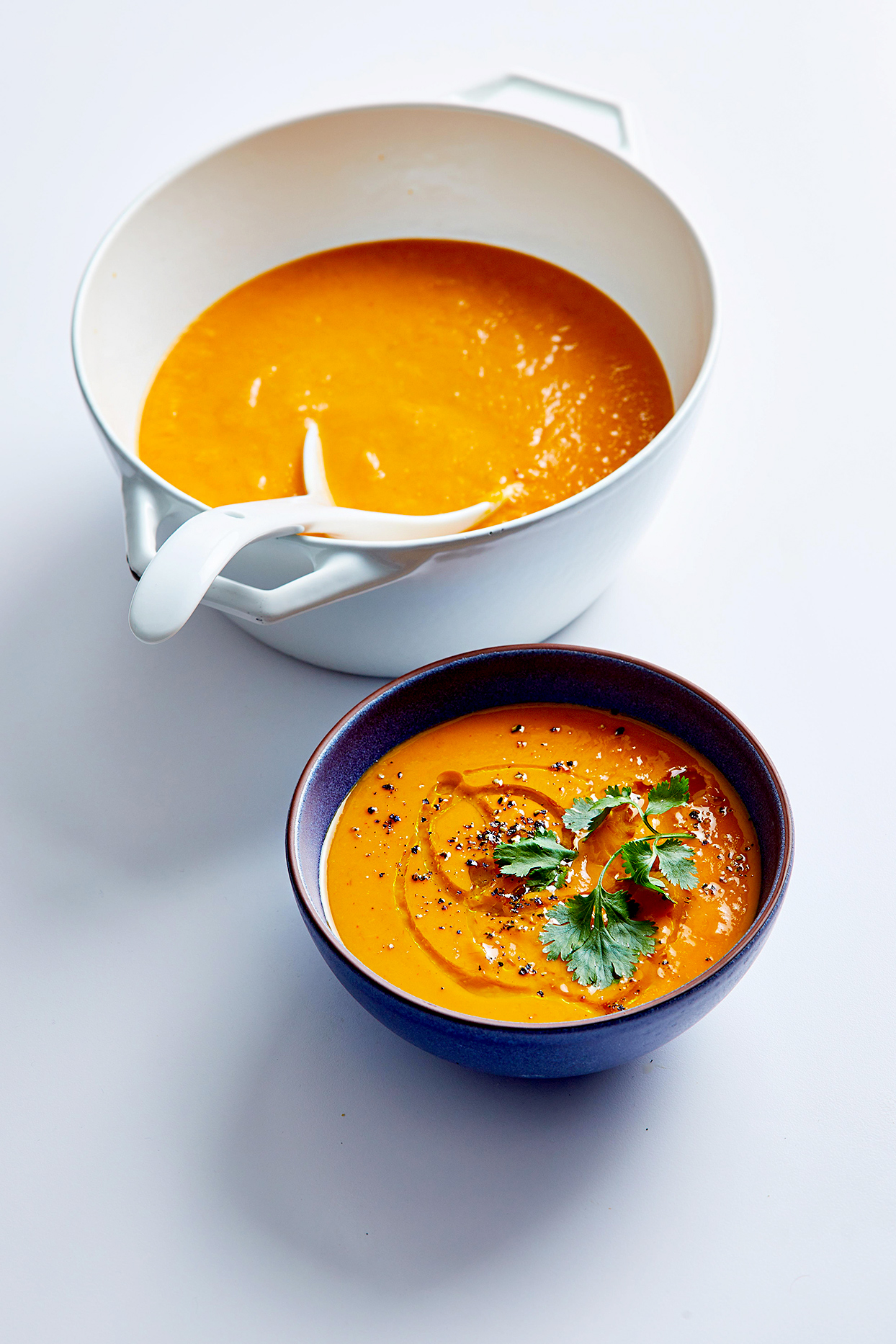 Red Curry-Lime Sweet Potato Soup Anna Kovel