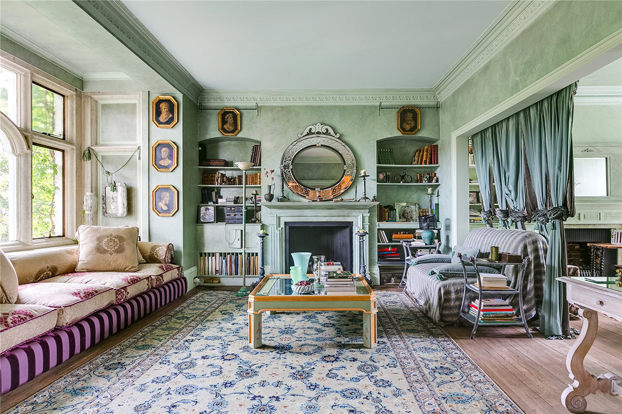 inside living room of home that inspired peter pan