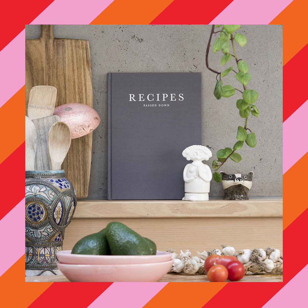 recipes passed down book