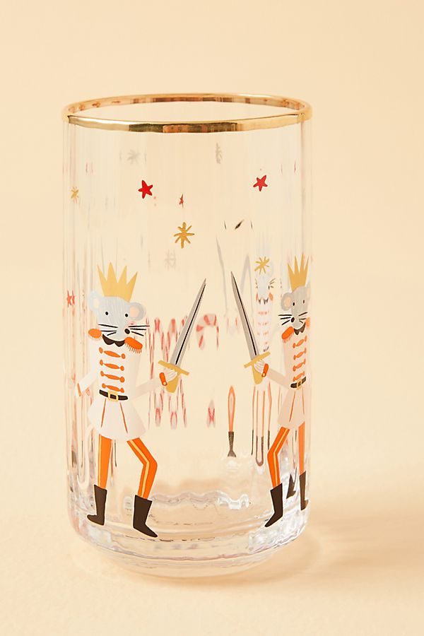 Anthropologie Has the Cutest Rifle Paper Co. Christmas Glasses
