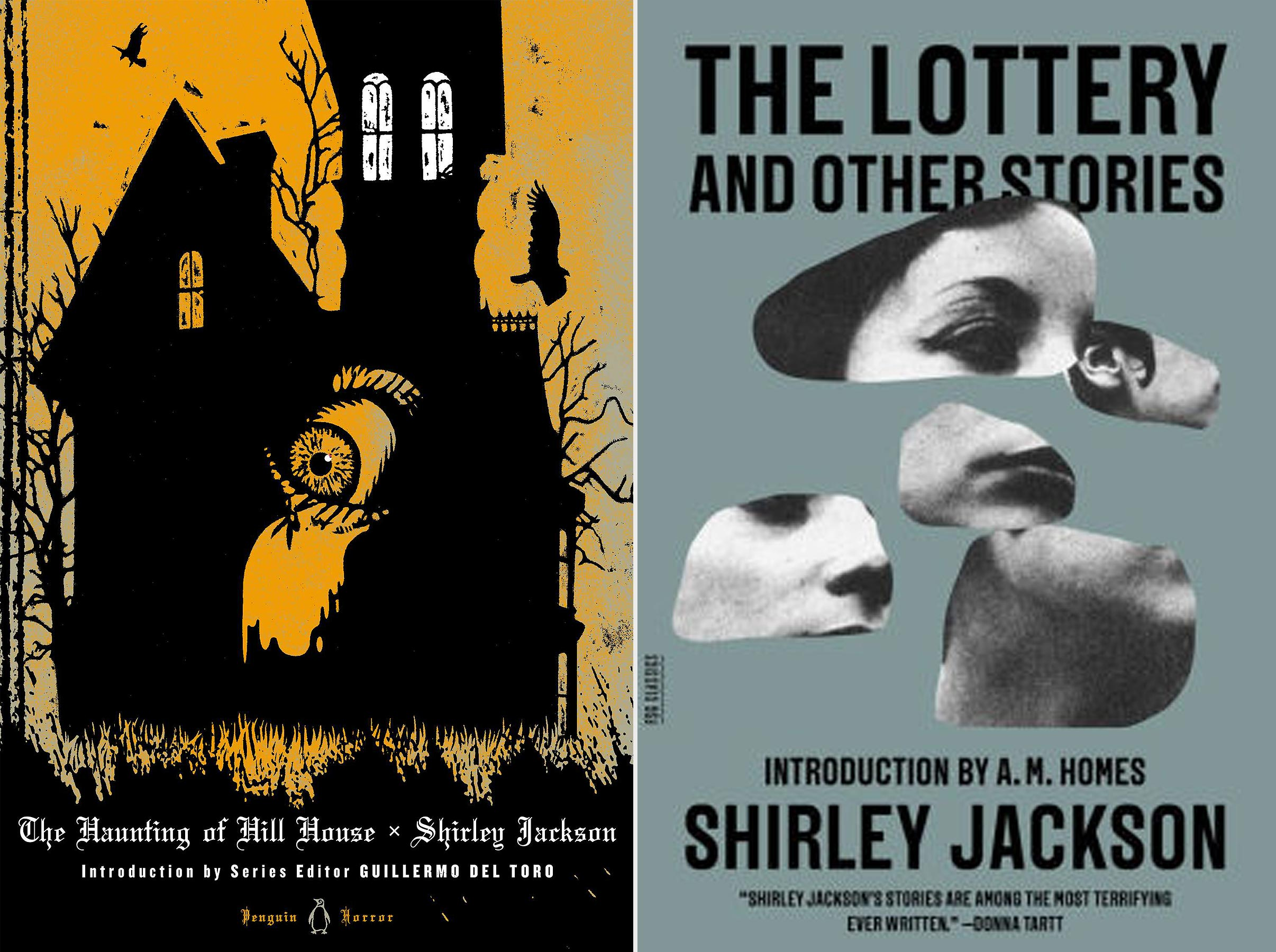 image cover of the haunting of hill house and the lottery