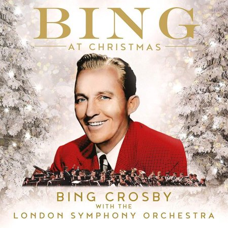 album cover of Bing at Christmas