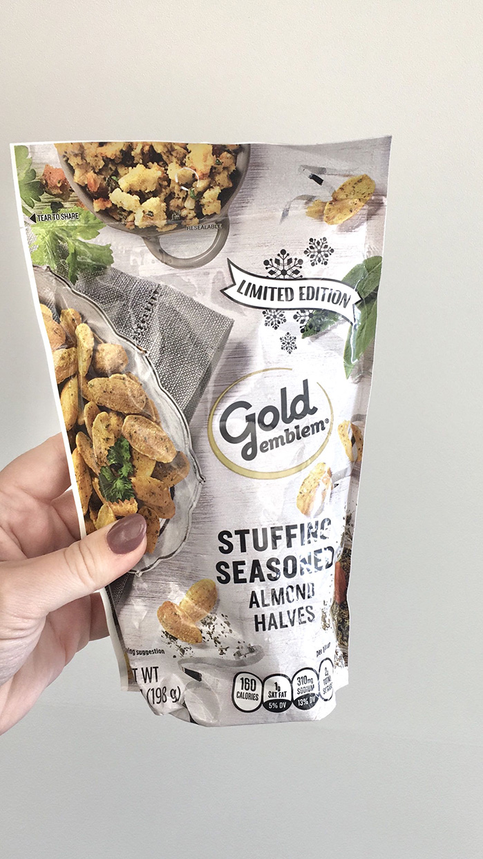 These Stuffing-Flavored Almonds Taste Just Like the Thanksgiving Side