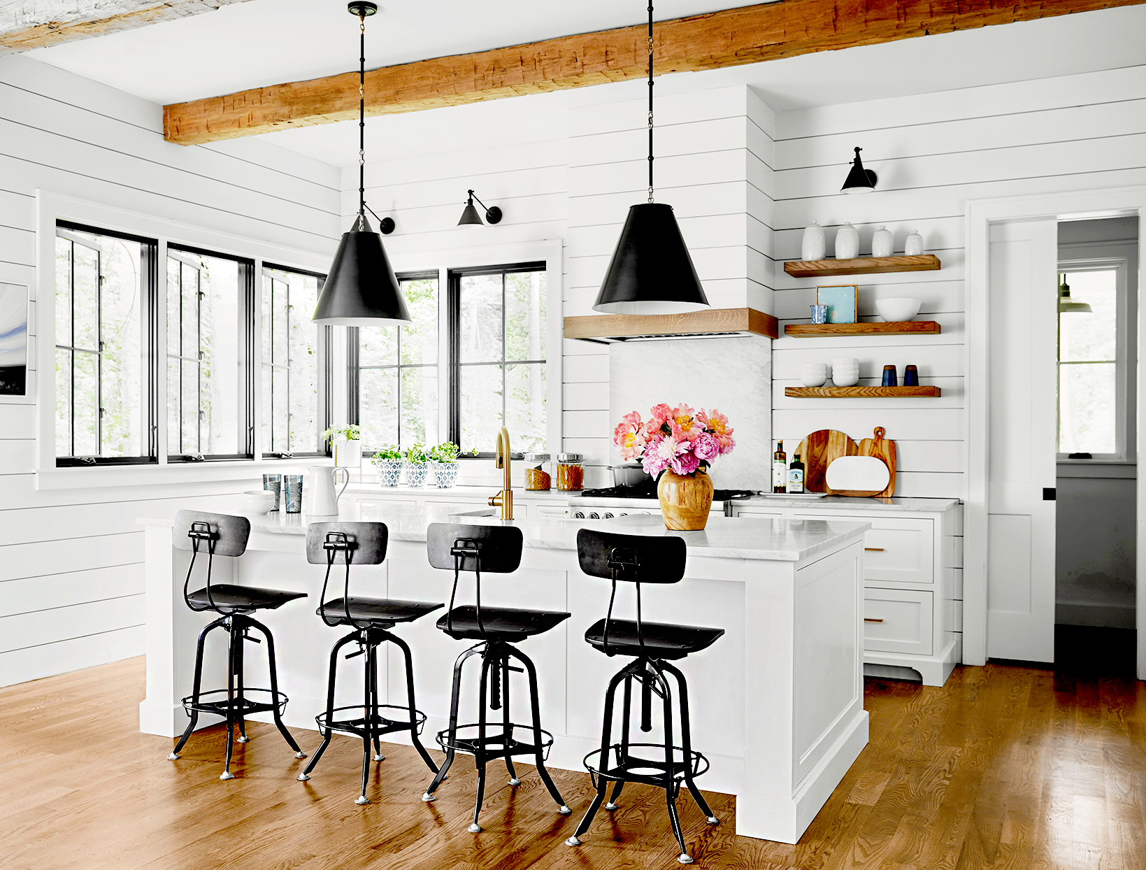 23 Farmhouse Kitchen Ideas To Steal Better Homes Gardens