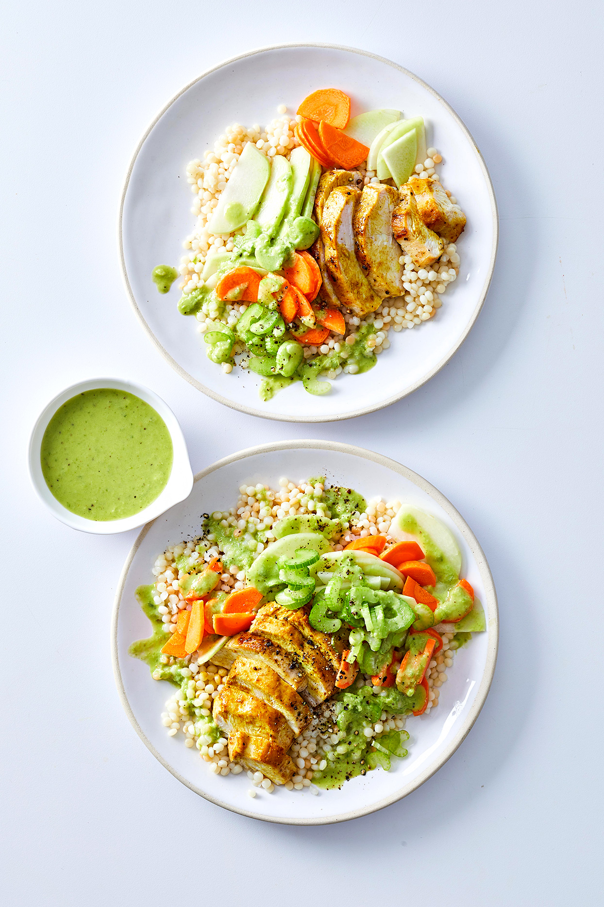Curry Chicken Salad with Couscous