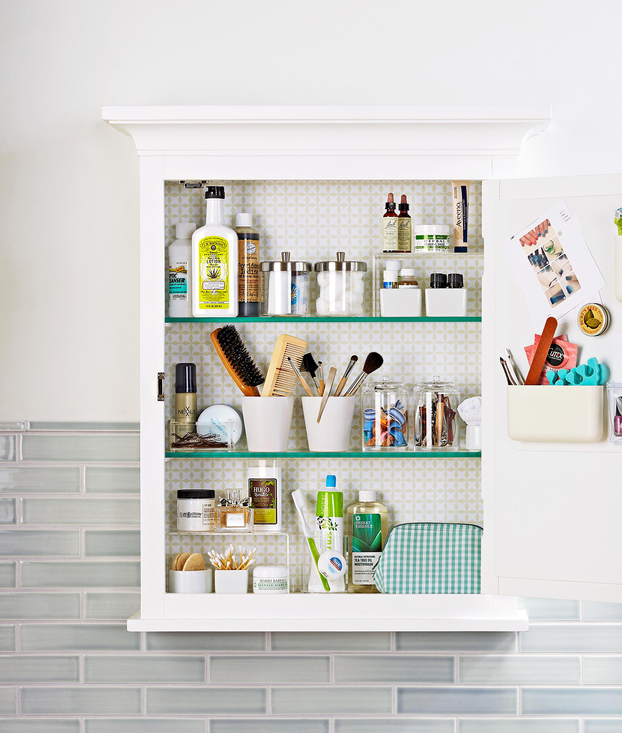 11 Clever Ways to Organize Bathroom Cabinets  Better Homes & Gardens