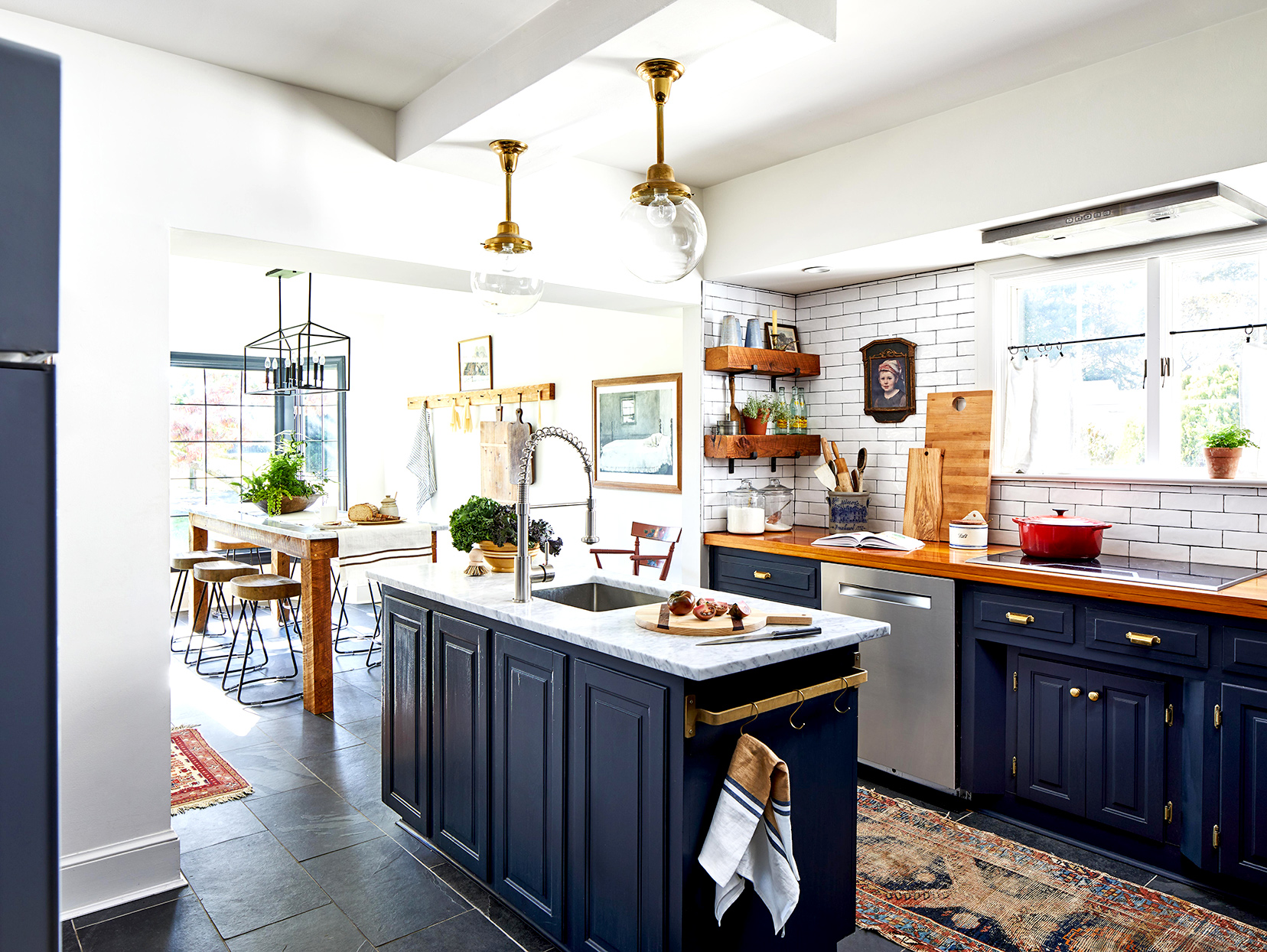 11 Blue Kitchen Ideas for a Refreshingly Colorful Cooking Space